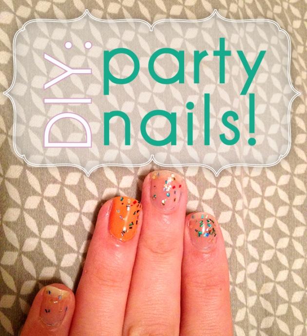 Glitter Nail Polish Make Your Own: DIY: Make Your Own Glitter Nail Polish