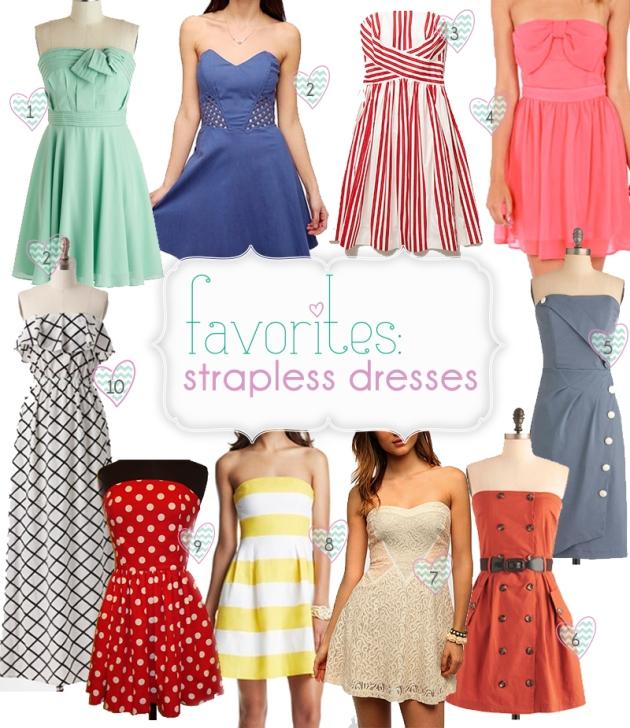 favorites-strapless-dresses