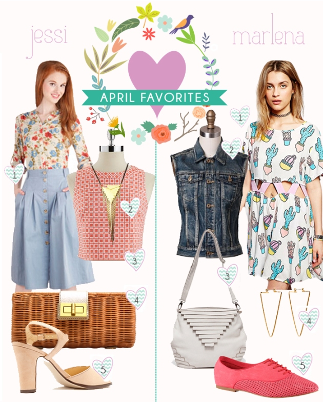april-favorites