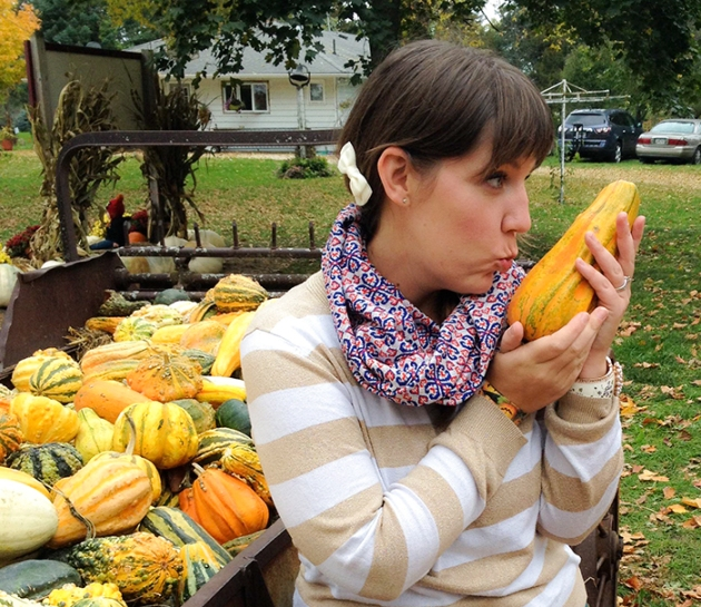 I just really love gourds